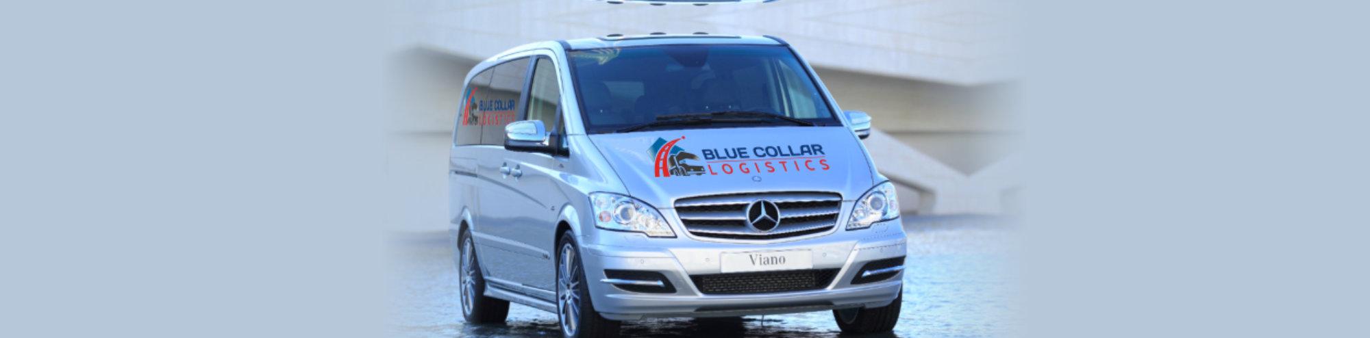 Passenger blue Vans