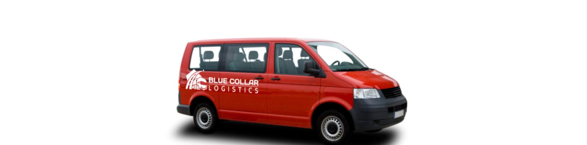 Passenger red Vans