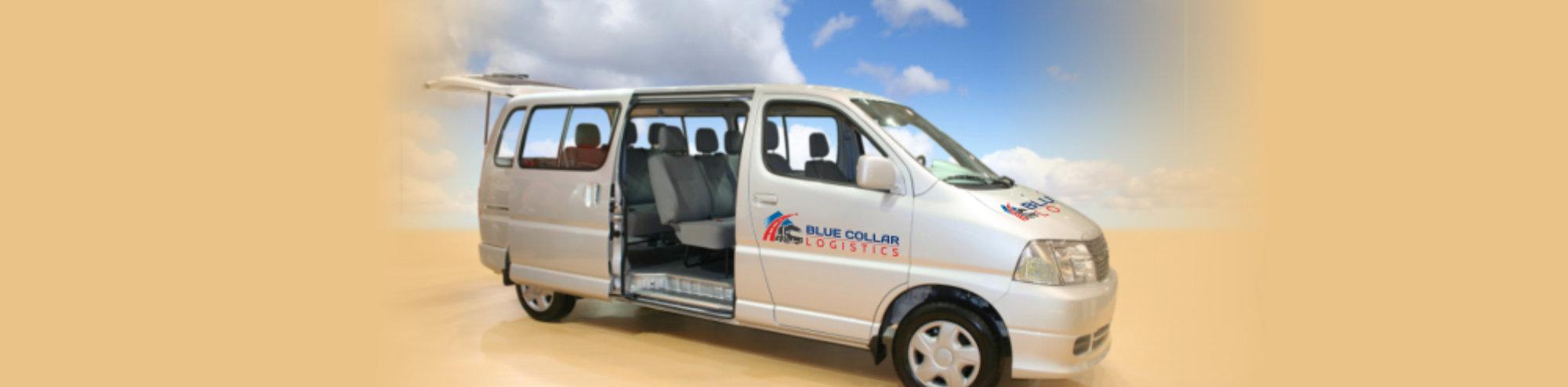 Passenger grey Vans